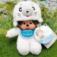Goma Chan x Monchhichi S Size Plush 小芝麻 200610