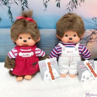 Sekiguchi Monchhichi 20cm New Holiday Dress Boy & Girl (PAIR) 200940+50