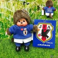 "Monchhichi Mascot Keychain Football 2010 Boy 日本足球隊 吊飾 201070 ""Pre-Order"""