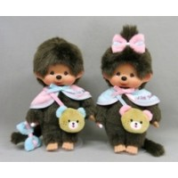"Monchhichi 45周年 Happy Trip S Size Boy & Girl 201129+201136 ""PRE-ORDER"""