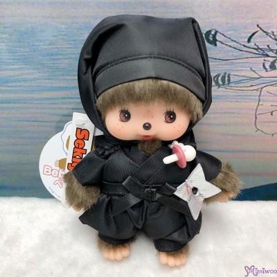 Monchhichi Bebichhichi 14cm Plush Ninja Black 黑忍者 201181
