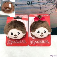 Monchhichi 4cm Mini Plush Safety Pin Brooch MCC Head Boy & Girl 毛公仔扣針 201204+201211