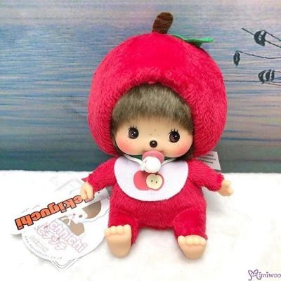Apple Bebichhichi 14cm Plush Mascot Bean Bag Sitting  蘋果 201259