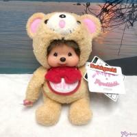 Monchhichi S Size Plush 45th Anniversary Happy Trip KIPPU Bear 201341