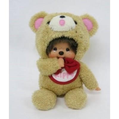Monchhichi S Size Plush 45th Anniversary Happy Trip KIPPU Bear 201341 PRE-ORDER