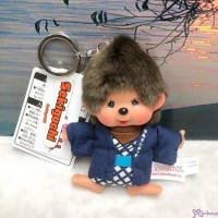 Monchhichi Onsen Hot Spring Keychain Mascot Boy 温泉 鑰匙扣 201365