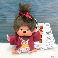 Monchhichi Onsen Hot Spring Keychain Mascot Girl 温泉 鑰匙扣 201389
