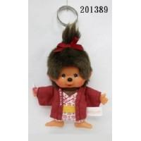Monchhichi Onsen Hot Spring Keychain Mascot Girl 温泉 鑰匙扣 ~ PRE-ORDER ~ 201389