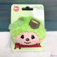 Monchhichi 5.5 x 4.5cm Face Badge - Green Tea 201457