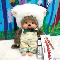 201754 Fluffy CHAMUS Monchhichi S Size Plush Sheep Boy