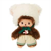 201785 Fluffy CHAMUS Monchhichi Bebichhichi Plush Sheep Boy
