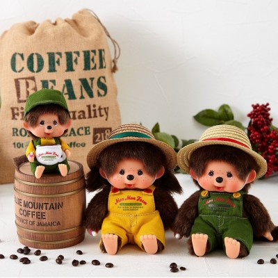 2021 Mon Mon Farm Coffee Monchhichi Plush Mascot 201860
