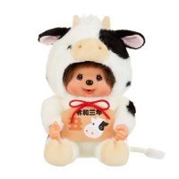 Monchhichi Cow L Size Plush MCC 2021 Year of OX  生肖 牛年 202140