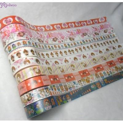 Monchhichi 40th 周年紀念 Masking Tape 日本製 公仔 膠紙 Matrioshka 203650