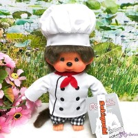 Monchhichi S Size Plush Cooking Chef Boy 廚師 220441 NEW ARRIVAL