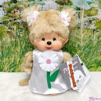 Monchhichi S Size Plush White Flower Margaret 220458