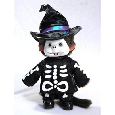 Monchhichi 22cm Halloween Skeleton 萬聖節 骷髏骨 MCC 220720