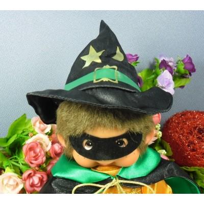Monchhichi 22cm Halloween Witch 萬聖節 巫師 MCC 220730