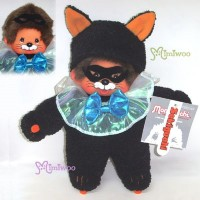 Monchhichi S Size 22cm Plush Halloween Black Cat MCC 220740