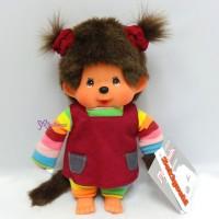 Sekiguchi Monchhichi S MCC Rainbow Tee Blue Overall Girl 220860