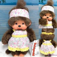 Sekiguchi Monchhichi S Size Dressed Sun Dress Girl 222640