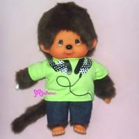 Sekiguchi Monchhichi S Size Dressed Tee & Pants Boy 222690