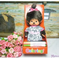 Monchhichi Coloring Tee S Size 神奇 填色衣服 223329
