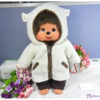 Monchhichi L Size 45cm Sheep Coat Girl 羊毛外套 女孩 223480