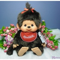 Monchhichi L Size Super Soft Head Premium Sitting Girl 軟頭 226658