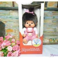 Monchhichi Plastic Coin Bank Pink Girl 膠錢箱 229895