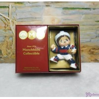 Micro Monchhichi 6cm Sport Figure 硬膠 公仔 - Rugby 229956-2