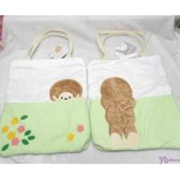 Monchhichi Pastel Flower Series - Green Bag (立體尾巴) 手袋 231310