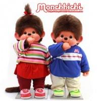 Monchhichi 2L 80cm DVD Anime MCC 動漫 男孩 和 女孩 231500+231510