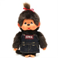 Edwin x Monchhichi M Size Limited MCC Overall Jeans Girl 231720