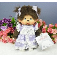 Monchhichi Girl MCC Lacy Dress Purple 紫色 花邊裙 232250