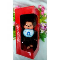 眨眼 Monchhichi 20cm Move Eyes with Blue Sleep Bib Boy 233052