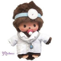 Monchhichi Baby Bebichhichi Career Play Plush - BBCC Doctor 233340