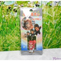 Monchhichi 3cm Mini Mascot Phone Strap Ultraman Monster 超人 怪獸 吊飾 233620