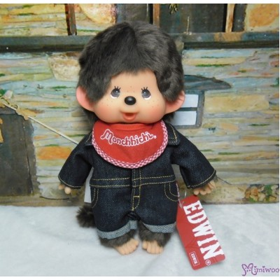 Edwin x Monchhichi Ver. 3 Limited M Size Overall Jeans BOY 234158