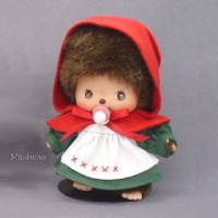 Monchhichi Baby Bebichhichi Fairy Tale Red Hat Cape Girl 234210