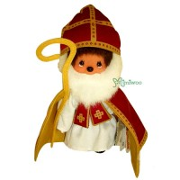 Monchhichi S Size 20cm Saint Nikolass MCC 聖尼古拉斯 234260