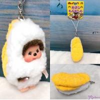 Monchhichi 7.5cm Plush Sushi Mascot Phone Strap Sea Urchin  壽司吊飾  海膽 234760