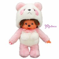 Monchhichi S Size MCC Standing Panda Pink 熊貓 236550