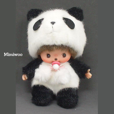 Bebichhichi 15cm Plush Animal BBCC Panda  236560