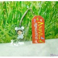 Monchhichi 3cm Mini Mascot Phone Strap Mouse 吊飾 237190
