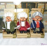 Monchhichi S Size Music Composer Bach , Mozart , Beethoven 音樂家 巴哈 莫扎特 貝多芬  237820+237830+237840