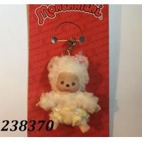 Monchhichi Baby Bebichhichi Friend Plush Mascot Phone Strap - Sheep 23837