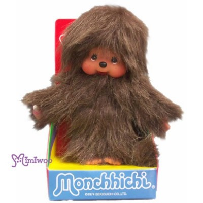 Monchhichi Musu Brown 啡色毛毛怪物 MCC 公仔 239380