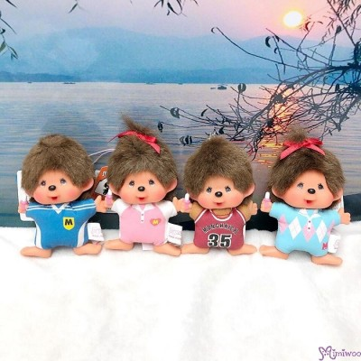 Monchhichi SS Big Head Mascot Keychain Football Club Boy 足球隊 吊飾 239500