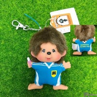 "Monchhichi SS Big Head Mascot Keychain Football Club Boy 足球隊 吊飾 239500 ""Pre-Order"""